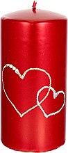 Духи, Парфюмерия, косметика Декоративная свеча красная, 7х14см - Artman Forever