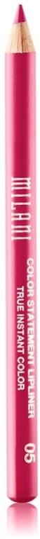 Контурный карандаш для губ - Milani Color Statement Lipliner