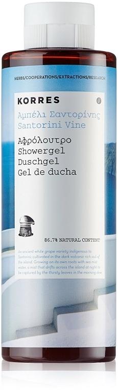 Гель для душа - Korres Santorini Vine Shower Gel