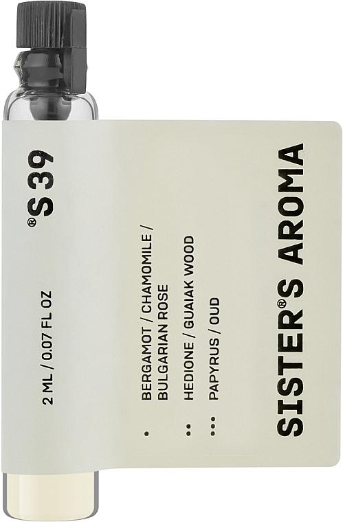 Sister's Aroma 39 - Парфюмированная вода (пробник)