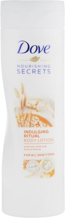 Лосьон для тела с овсяным молочком и медом акации - Dove Nourishing Secrets Indulging Ritual Body Lotion
