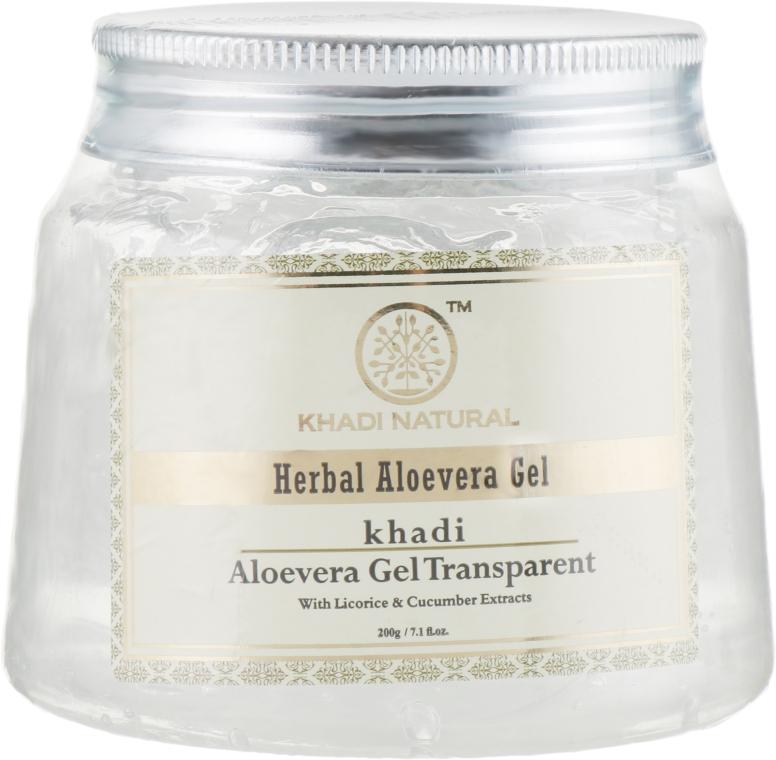 """Гель универсальный """"Алоэ Вера"""" - Khadi Natural Herbal Aloevera Gel Transparent"""