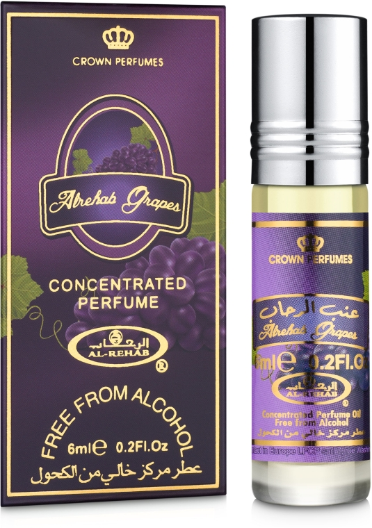 Al Rehab Grapes - Масляные духи (мини)