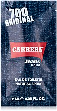 Духи, Парфюмерия, косметика Carrera 700 Original - Туалетная вода (пробник)