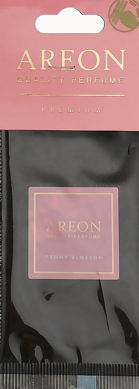 "Ароматизатор для автомобиля ""Цвет пиона"" - Areon Mon Premium Peony Blossom"