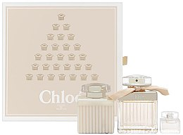Духи, Парфюмерия, косметика Chloe Fleur de Parfum - Набор (edp/75ml + edp/5ml + b/lot/100ml)