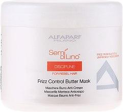 Духи, Парфюмерия, косметика Маска для непослушных волос - Alfaparf Semi di Lino Discipline Frizz Mask