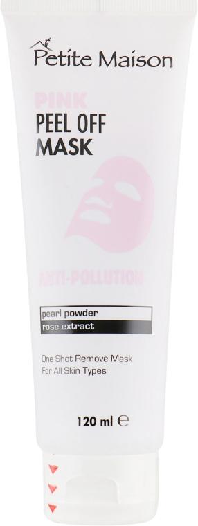 Очищающая маска-пленка для лица - Petite Maison Anti-Pollution Pink Peel Off Mask