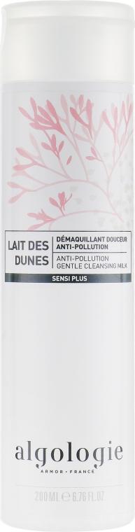 Мягкое очищающее молочко - Algologie Sensi Plus Anti-Pollution Gentle Cleansing Milk