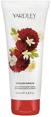 ПОДАРОК! Скраб для тела - Yardley English Dahlia Body Scrub — фото N1