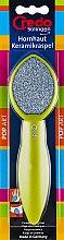 Духи, Парфюмерия, косметика Двухсторонняя керамическая пилка для педикюра, салатовая - Credo Solingen Pop Art