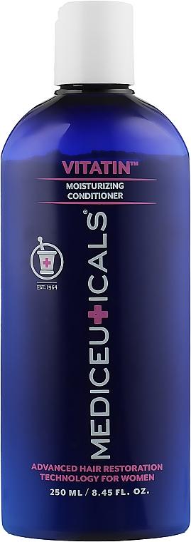 Увлажняющий невесомый кондиционер для волос, для женщин - Mediceuticals Advanced Hair Restoration Technology Women Vitatin