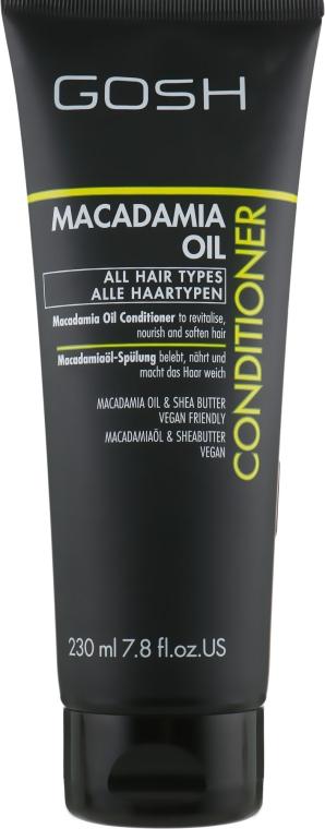 Кондиционер для волос с маслом макадамии - Gosh Copenhagen Macadamia Oil Conditioner