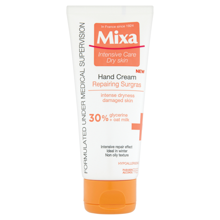 Восстанавливающий крем для рук - Mixa Intensive Care Dry Skin Hand Cream