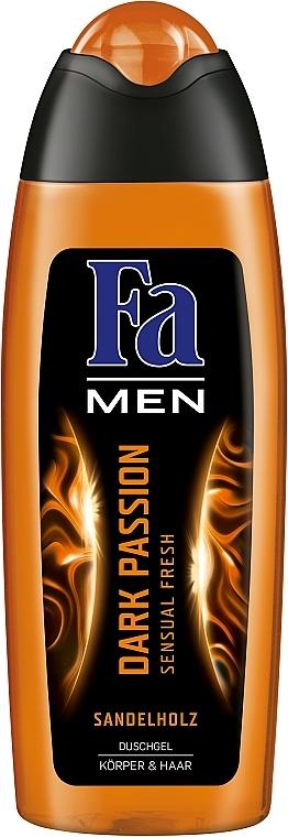 """Гель для душа """"Чувственная свежесть"""" - Fa Men Dark Passion"""