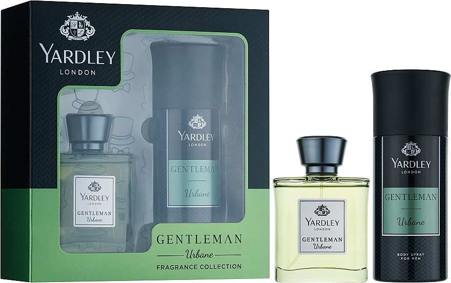 Yardley Gentleman Urbane - Набор (edp/50ml + b/spray/150ml)