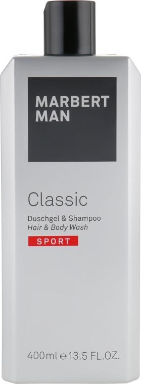 Средство по уходу за волосами и телом - Marbert Man Classic Sport Hair & Body Wash