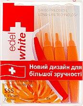 Парфумерія, косметика Щітки - Edel+White Dental Space Brushes SSS