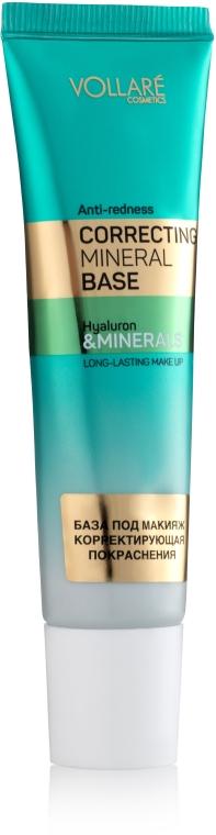 Корректирующая база под макияж - Vollare Cosmetics Correcting Mineral Base