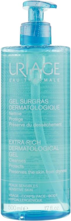Очищающий дерматологический гель - Uriage Dermatological Cleanser Gentle Foaming Gel