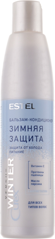 Бальзам-кондиціонер для волосся захист та живлення - Estel Professional Curex Versus Winter — фото N1