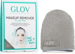 Духи, Парфюмерия, косметика Рукавичка для снятия макияжа, серая - Glov On-The-Go Makeup Remover