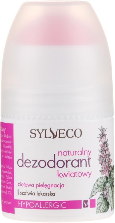 Натуральный цветочный дезодорант - Sylveco Natural Floral Deodorant
