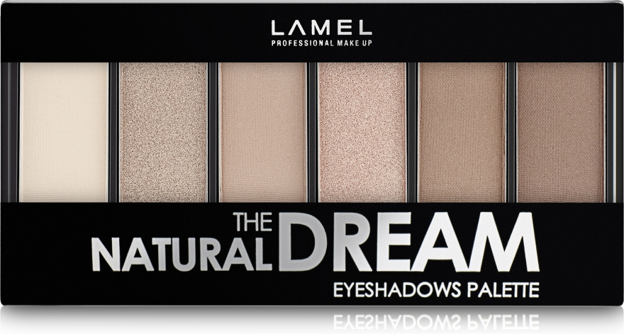 Тени для век - Lamel Professional The Natural Dream Eyeshadow Pallette