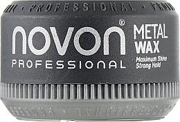 Духи, Парфюмерия, косметика Помада для волос сильной фиксации с металлическим блеском - Novon Professional Metal Wax Strong Hold