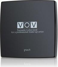 Духи, Парфюмерия, косметика Компактная пудра для лица с запасным блоком - VOV Pact Powder