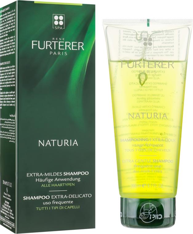 Шампунь, для всех типов волос - Rene Furterer Naturia Extra Gentle Shampoo All Hair Type