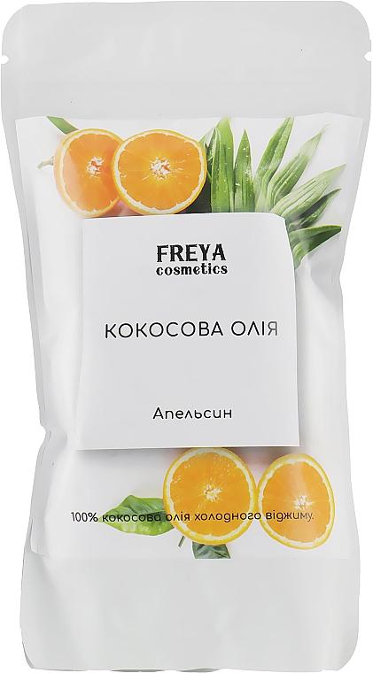"""Кокосовое масло """"Апельсин"""", дой-пак - Freya Cosmetics"""