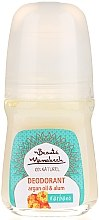 Духи, Парфюмерия, косметика Натуральный дезодорант с маслом арганы - Beaute Marrakech Natural Argan Deodorant Roll-on