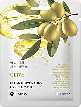 Духи, Парфюмерия, косметика Ежедневная увлажняющая маска с экстрактом оливы - Jkosmec Olive Ultimate Hydrating Essence Mask