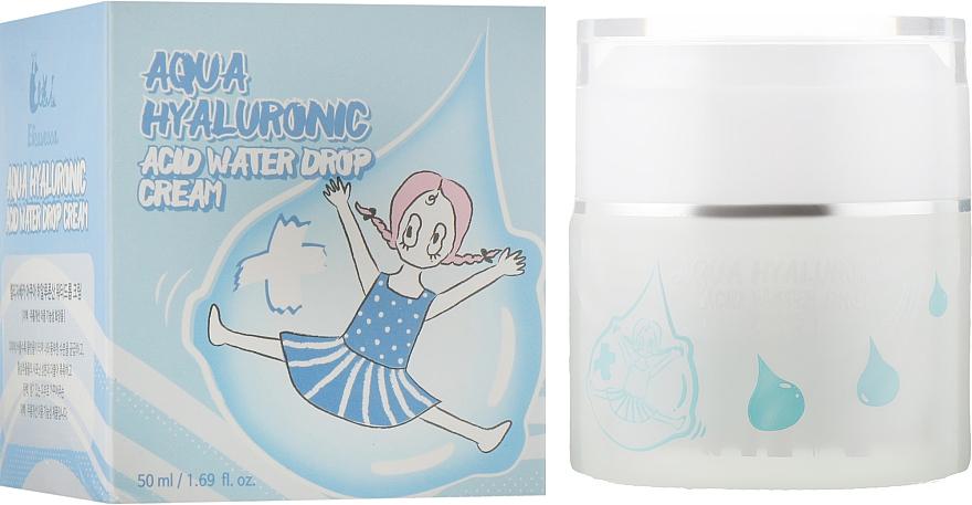 Крем для лица увлажняющий гиалуроновый - Elizavecca Face Care Aqua Hyaluronic Acid Water Drop Cream