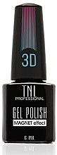 "Парфумерія, косметика Гель-лак для нігтів ""Котяче око 3D"" - TNL Professional Gel Polish Magnet Effect 3D"