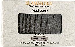 Мыло с грязью Мертвого моря - Seamantika Mud Soap Dead Sea Mud — фото N1