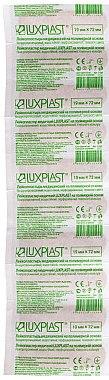 Пластырь полимерный при повреждениях и порезах, телесный, 19х72мм - Luxplast — фото N1