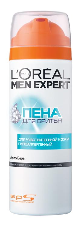Пена для бритья для чувствительной кожи - L'Oreal Paris Men Expert