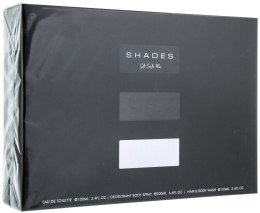 Духи, Парфюмерия, косметика Armaf Shades For Men - Набор (DEO/200ml + EDT/100ml + B/SG/100ml)