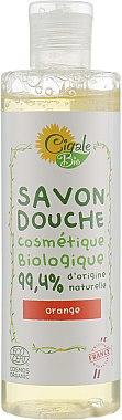 Гель-мыло для душа с эфирным маслом апельсина - La Cigale Bio Shower Gel Soap