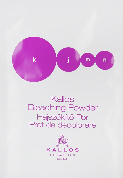 Пудра осветляющая - Kallos Cosmetics Bleaching Powder