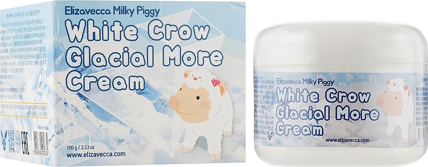 Крем для лица воздушный - Elizavecca Face Care Milky Piggy White Crow Glacial More cream
