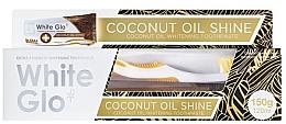 Духи, Парфюмерия, косметика Набор - White Glo Coconut Oil Shine (toothpaste/120ml + toothbrush)