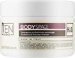Духи, Парфюмерия, косметика Инновационная пудра для деликатного очищения тела со спонжем - Ten Science Body Space Savonnage Foaming Cleanser