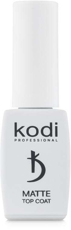 Матовое верхнее покрытие - Kodi Professional Matte Top Coat Velour