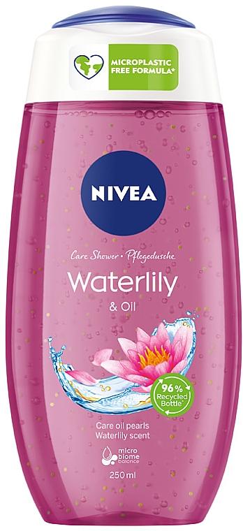 "Гель для душа ""Белая кувшинка и масло"" - Nivea Hair Care Water Lily And Oil Shower Gel"
