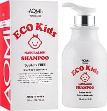Духи, Парфюмерия, косметика Детский органический шампунь - Aomi Eco Kids Shampoo