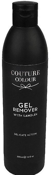 Средство для удаления геля и гель-лака с ланолином - Couture Colour Gel Remover with Lanolin