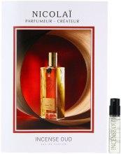 Духи, Парфюмерия, косметика Parfums de Nicolai Incense Oud - Парфюмированная вода (пробник)